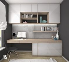 Home Office Furniture Design, Home Office Setup, Home Office Space, Office Interior Design, Office Interiors, Study Table Designs, Study Room Design, Small Room Design, Wardrobe Design Bedroom