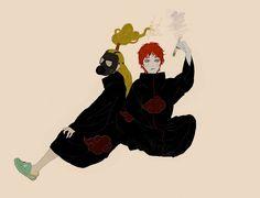 Why is Deidara wearing crocs Sasori And Deidara, Itachi, Naruto Shippuden, Boruto, Akatsuki, Best Villains, Naruto Images, English Memes, Story Of The World