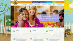We redesigned The Children's Place to make it more parent friendly. http://www.childrensplace.on.ca/