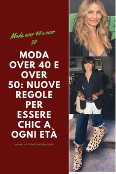 Moda over 40 e over alcune regole da sfatare . Come vestirsi a 40 anni. Come vestirsi a 50 anni. What to wear at Beauty Over 40, Fashion For Women Over 40, Best Face Products, Beauty Products, Old Women, Cool Style, 50 Style, Fashion Beauty, Women's Fashion