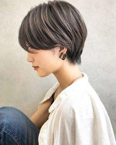 Pin on ショートヘア ( Short Hairstyles ) Pin on ショートヘア ( Short Hairstyles ) Medium Hair Cuts, Short Hair Cuts, Medium Hair Styles, Curly Hair Styles, Haircuts For Long Hair, Short Hairstyles For Women, Long Hair V Cut, Inspo Cheveux, Asian Short Hair