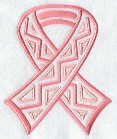 Awareness Ribbon Embroidery Pattern   ... Embroidery Designs at Embroidery Library! - Mola Awareness Ribbon