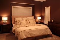 bedding, chocolates, hot chocolate, colors, bedroom paint, paint reveal, chocolate brown bedrooms, chocolate pudding, cream