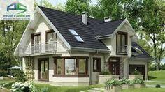 Картинки по запросу проекты домов до 120 кв м с мансардой І ГАРАЖОМ