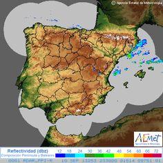 Imagen de radar de Península y Baleares:miércoles, 11 septiembre 2013 a las 01:30