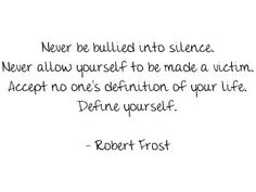 Robert Frost. Okay, so I might have sacrificed parts of myself to be who I am today. Sort of sad. Sort of happy.