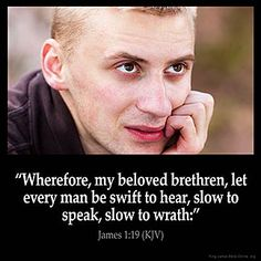 Inspirational Image for James 1:19