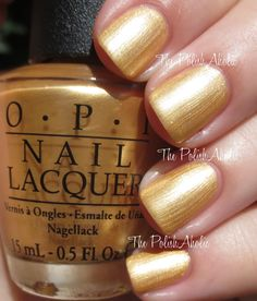 OPI 2014 Holiday Collection Gwen Stefani: Rollin' In Cashmere - I just love this color for Mizzou games