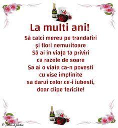 Felicitari de La multi ani - La multi ani! Birthday Wishes, Birthday Cards, Happy Birthday, Happy Week, Emoticon, True Words, Kids And Parenting, Motto, Funny Texts