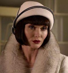 Essie Davis as Phryne Fisher ~ Miss Fisher's Murder Mysteries