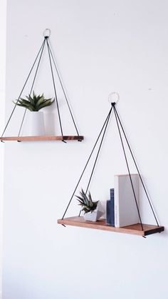 , Hanging Shelves / Set of 2 Large Shelves / Floating Shelves /. , Hanging Shelves / Set of 2 Large Shelves / Floating Shelves / Swing Shelves