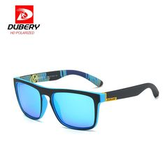 b1c84abc15 DUBERY 2017 Mirror Polarized Sunglasses Men Aviation Driver Male REVO Sun  Glasses For Men s Eyewear Luxury Brand Designer Oculos