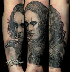 The Crow tattoo by Todo Brennan