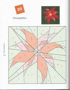 Poinsetta PFP pattern