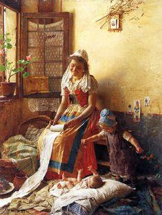 """El Museo de Alberto: """"A Mother's Love"""" Gaetano Chierici"""