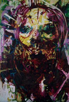 Faces No. 2   J.M.K ART