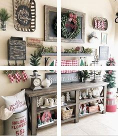 Are you searching for inspiration for farmhouse christmas decor? Check this out for unique farmhouse christmas decor pictures. This kind of farmhouse christmas decor ideas will look totally brilliant. Noel Christmas, Winter Christmas, Christmas Crafts, Christmas Ideas, Christmas Quotes, Christmas Nails, Christmas Vacation, Christmas Inspiration, Simple Christmas