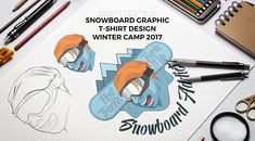 """the best way to predict the future is to create it""...http://florinchitic.com/snowbard-addict-project/ #creativedesign #snowboarding #tshirtprint #drawing #uniqueconcept #digitalpainting #mountains #happiness #branding #cloathdesign #marketing #digitalart #art #painting"