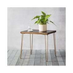 Pompeii side table in metallic ceramic - 45305 modern, contemporary lamp & end side tables. Industrial Side Table, Wooden Side Table, Industrial Style, Contemporary Side Tables, Modern Table, Furniture Decor, Living Room Furniture, Side Coffee Table, Glazed Tiles