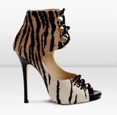 Jimmy Choo/I think the dark leopard pattern should  be at the bottom and going to light at the top. Sorry Jimmy- G.