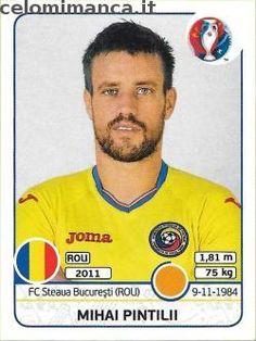 UEFA EURO 2016™ Official Sticker Album: Fronte Figurina n. 57 Mihai Pintilii