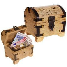 Personalized Treasure Chest: makes giving money so much better!
