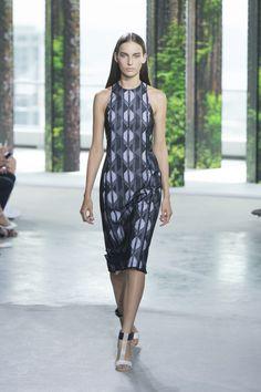Boss Womenswear: Texture Messages | Vogue