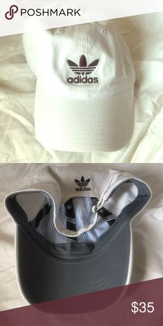 4dd21b0798e2 Adidas white baseball hat Adidas white adjustable baseball hat. New without  tags adidas Accessories Hats