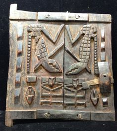 African Mali Dogon Granary Door by WorldofBacara on Etsy $155.00