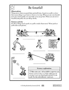 Friction is forceful - Worksheets & Activities | GreatSchools ...