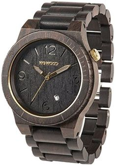 Alpha Black Gold WeWood: reloj de pulsera by WeWood -- Awesome products selected by Anna Churchill