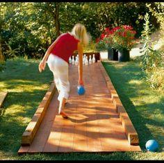 Bowlingbaan ...
