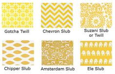 This listing is for one throw pillow cover in the corn yellow and white line on 100% cotton in the print of your choice.  Features: >Deep