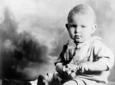 A childhood photo of Andy Griffith.  He was born in 1926 in Mt. Airy, N.C..