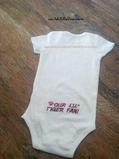 Favorite Sports Team or Clemson University by NYLAKELLEYDESIGNS, $13.99