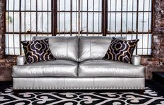 Linkin Sofa By Norwalk Furniture. Love It In This Dramatic Fabric! See The  Sectional In A Cool Casual Gray At Esquire Interiors!
