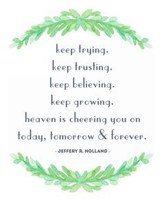 Favorite General Conference Quotes - Jesus Quote - Christian Quote - Heaven is cheering you on Jeffery R. Holland Quote Free Printable LDS General Conference April 2016 The post Favorite General Conference Quotes appeared first on Gag Dad. Gospel Quotes, Lds Quotes, Religious Quotes, Uplifting Quotes, Quotable Quotes, April Quotes, Christ Quotes, Qoutes, Spiritual Thoughts