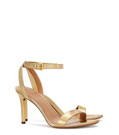 Tory Burch Elana Metallic Sandal