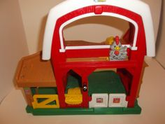 Fisher Price Little People Farm play place no by RocksTreasures, $12.99