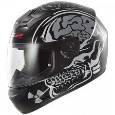 """Мотошлем LS2 Rookie X Ray Matt Black: купить в Украине, цена, характеристики, обзор. мотошлемы от """"MotoSkarb"""" - LS2 Helmets"""
