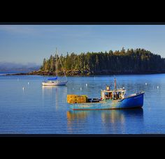 Sorrento, Maine Lobster Boat by Greg from Maine, via Flickr