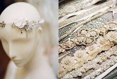 """Find the Dress"" wedding photo shoot by Li Ward from Fat Orange Cat Studio // at BHLDN Boston"