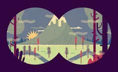 Light on the Horizon - Owen Davey Illustration