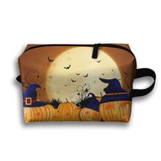 Halloween Zombie Baby Scary Eyes Scratches Multi-function Travel Makeup Toiletry Coin Bag Case