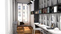 Atelier OCTA, aménagement, agencement, appartement, Lyon, salon ...