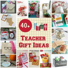 40+ teacher gift ideas