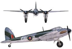 Features the development history, photos, technical specification and line drawings of the British De Havilland Mosquito high speed light bomber. Also upload your photos, leave your comment and vote for your favorite aircraft. Ww2 Aircraft, Military Aircraft, De Havilland Mosquito, Ww2 Planes, Royal Air Force, War Machine, Radio Control, Wwii, Commonwealth