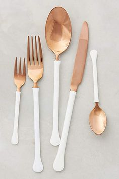 Copper Top Flatware - anthropologie.com - http://www.anthropologie.com/anthro/product/home-tabletop-dinnerware/34683722.jsp#/