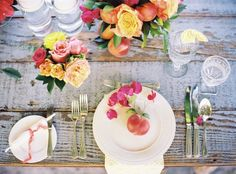 Helpful dinner table tips for your next Military Ball.  How to Set a Table Properly Style Me Pretty