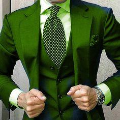 Green - suit combo? by mydapperself - https://www.instagram.com/p/BAcluPkDwgz/